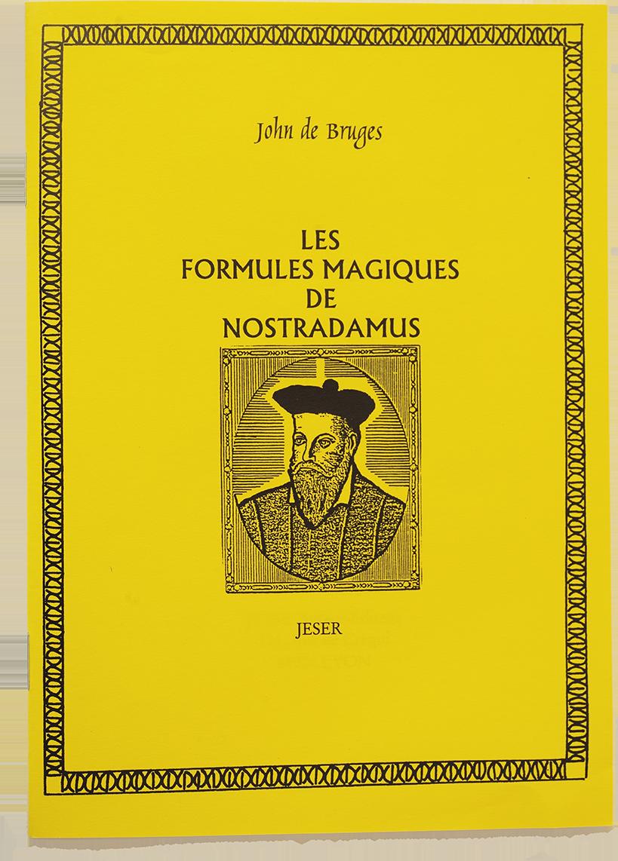Les formules magiques de Nostradamus b95866762dc1